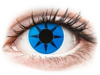 alensa.be - Contactlenzen - Blauwe Blue Star contactlenzen - ColourVue Crazy