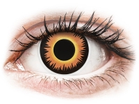 alensa.be - Contactlenzen - Oranje Orange Werewolf contactlenzen - ColourVue Crazy