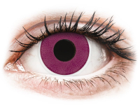 alensa.be - Contactlenzen - Paarse Purple contactlenzen - ColourVue Crazy