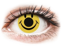 alensa.be - Contactlenzen - Gele Smiley contactlenzen - ColourVue Crazy