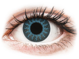 alensa.be - Contactlenzen - Blauwe Solar Blue contactlenzen - ColourVue Crazy