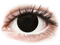 alensa.be - Contactlenzen - Zwarte BlackOut contactlenzen - met sterkte - ColourVue Crazy