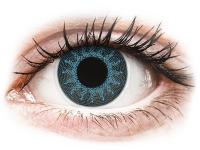 alensa.be - Contactlenzen - Blauwe Solar Blue contactlenzen - met sterkte - ColourVue Crazy