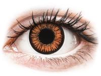 alensa.be - Contactlenzen - Oranje Twilight contactlenzen - met sterkte - ColourVue Crazy