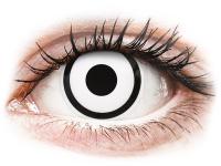 alensa.be - Contactlenzen - Witte White Zombie contactlenzen - met sterkte - ColourVue Crazy