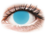 alensa.be - Contactlenzen - Blauwe Crazy Glow Electric Blue contactlenzen - ColourVUE
