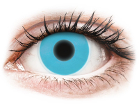 alensa.be - Contactlenzen - Blauwe Crazy Glow contactlenzen - ColourVUE