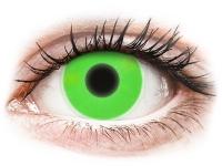alensa.be - Contactlenzen - Groene Crazy Glow contactlenzen - ColourVUE