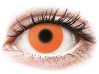 alensa.be - Contactlenzen - Oranje Crazy Glow contactlenzen - ColourVUE