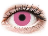 alensa.be - Contactlenzen - Roze Crazy Glow contactlenzen - ColourVUE