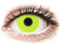 alensa.be - Contactlenzen - Gele Crazy Glow contactlenzen - ColourVUE