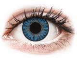alensa.be - Contactlenzen - Blauwe Sapphire Blue contactlenzen - met sterkte - TopVue Color
