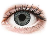 alensa.be - Contactlenzen - Grijze Soft Grey contactlenzen - met sterkte - TopVue Color