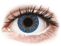 alensa.be - Contactlenzen - Blauwe True Sapphire contactlenzen - met sterkte - TopVue Color