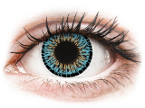 alensa.be - Contactlenzen - Blauwe Aqua contactlenzen -  ColourVUE Elegance