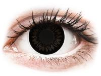 alensa.be - Contactlenzen - Zwarte Dolly Black contactlenzen - met sterkte - ColourVUE BigEyes