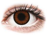 alensa.be - Contactlenzen - Bruine Pretty Hazel contactlenzen - met sterkte - ColourVUE BigEyes