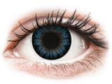 alensa.be - Contactlenzen - Blauwe Cool Blue contactlenzen - met sterkte - ColourVUE BigEyes