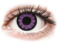 alensa.be - Contactlenzen - Paarse Ultra Violet contactlenzen - ColourVUE BigEyes