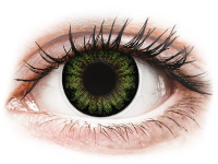 alensa.be - Contactlenzen - Groene Party Green contactlenzen - ColourVUE BigEyes