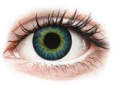 alensa.be - Contactlenzen - Geel en Blauwe contactlenzen - ColourVUE Fusion