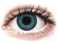 alensa.be - Contactlenzen - Blauwe Brilliant Blue contactlenzen - met sterkte - Air Optix Colors