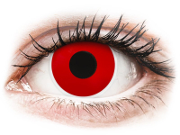alensa.be - Contactlenzen - ColourVUE Crazy Lens - Red Devil - zonder sterkte