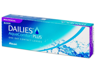 Dailies AquaComfort Plus Multifocal (30 lenzen)
