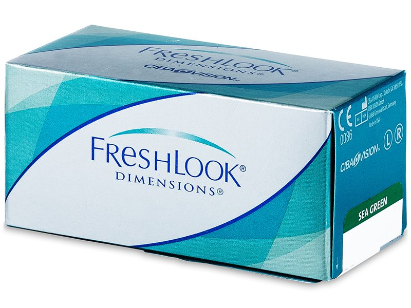 FreshLook Dimensions - met sterkte (6lenzen)