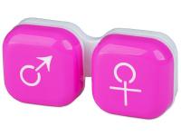 alensa.be - Contactlenzen - Lenzenhouder Man&Vrouw - Roze