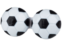 alensa.be - Contactlenzen - Lenzenhouder Voetbal - Zwart