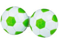 alensa.be - Contactlenzen - Lenzenhouder Voetbal - Groen