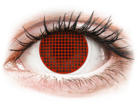 alensa.be - Contactlenzen - Rode Red Screen contactlenzen - ColourVue Crazy