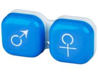 alensa.be - Contactlenzen - Lenzenhouder Man&Vrouw - Blauw