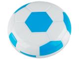 alensa.be - Contactlenzen - Lenzenhouder met spiegel Voetbal - blauw