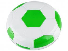 Lenzenhouder met spiegel Voetbal - groen