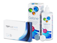 TopVue Air (6 lenzen) + Gelone 360 ml