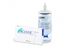 Acuvue 2 (6 lenzen) + Laim-Care 400 ml