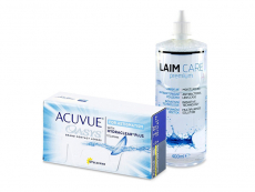 Acuvue Oasys for Astigmatism (12 lenzen) + Laim-Care 400 ml