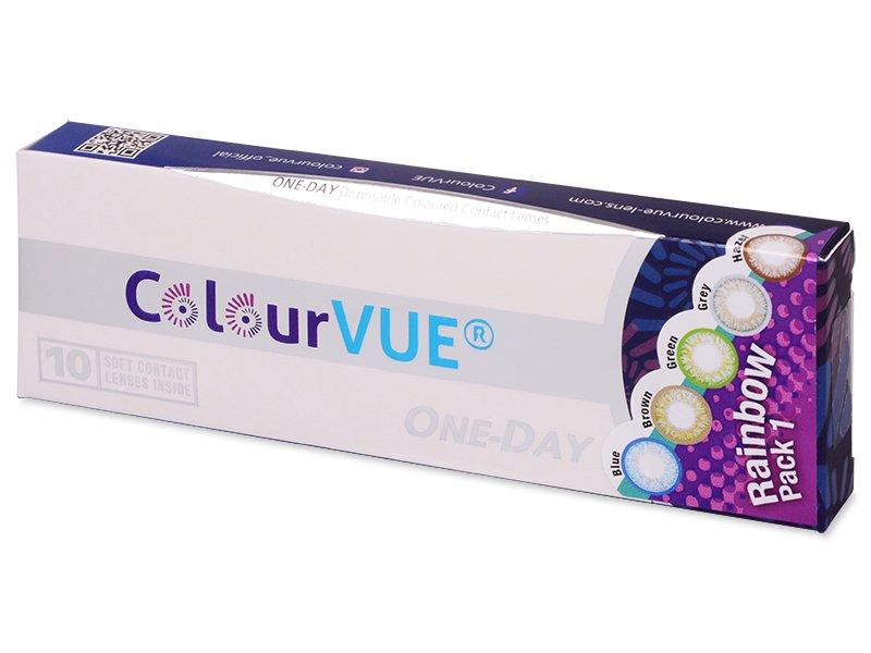 baa7c104d4c78 ... ColourVue One Day TruBlends Rainbow - non correctrices (10 lentilles)  ...