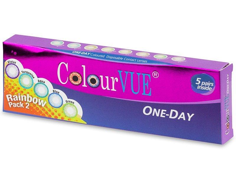 5eb89d8c22922 +11 plus ColourVue One Day TruBlends Rainbow - non correctrices (10  lentilles) ColourVue One Day TruBlends ...