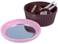 alensa.be - Contactlenzen - Lenzen Kit met spiegel - roze Muffin