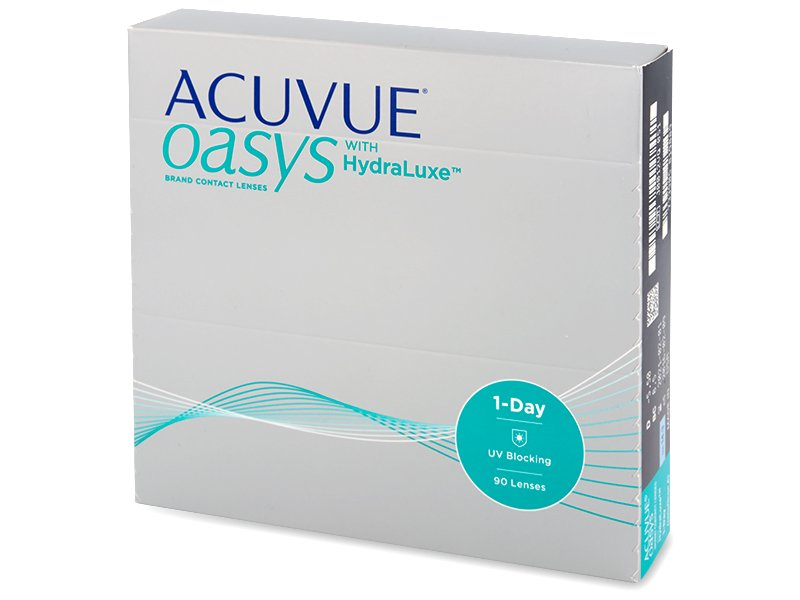 Acuvue Oasys 1-Day with Hydraluxe (90 lentilles)   alensa.be 5cc48f3d95fa