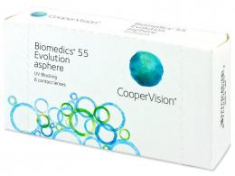 Biomedics 55 Evolution (6lenzen) - CooperVision