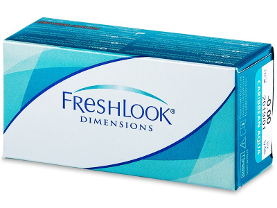 FreshLook Dimensions - zonder sterkte (2lenzen)