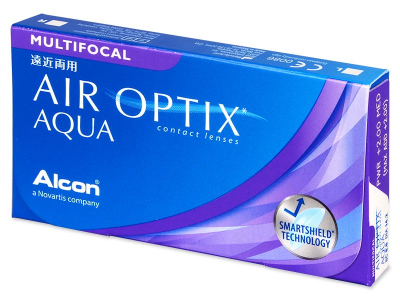 Air Optix Aqua Multifocal (6lenzen)