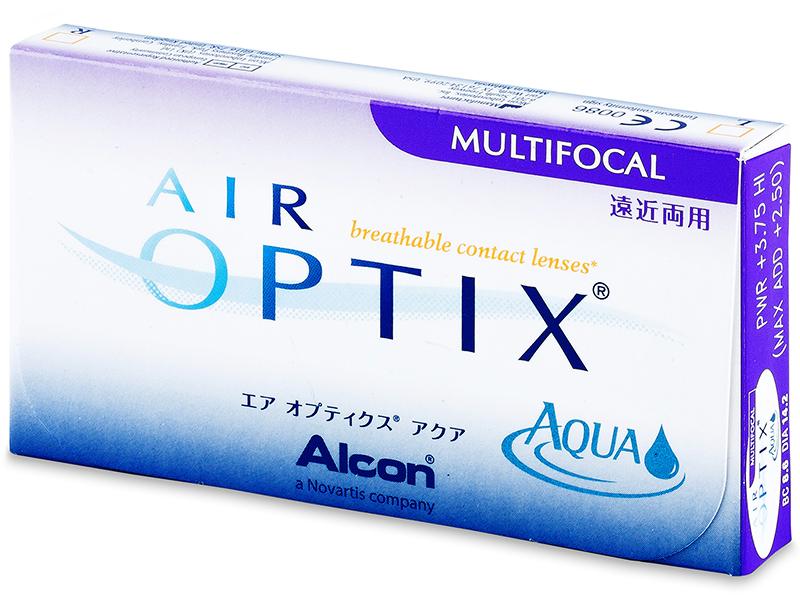 Air Optix Aqua Multifocal (3lenzen)