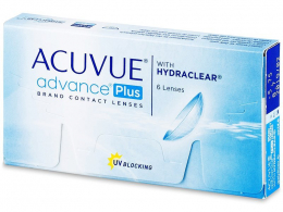 Acuvue Advance PLUS (6lenzen) - Johnson & Johnson