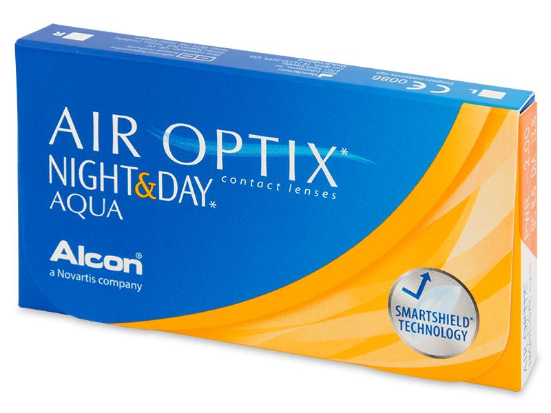 Air Optix Night and Day Aqua (3lenzen)