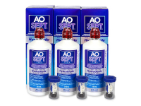 alensa.be - Contactlenzen - AO SEPT PLUS HydraGlyde 3x360 ml